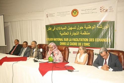 La ministre du commerce supervise l'ouverture d'un atelier sur la facilitation des échanges commerciaux