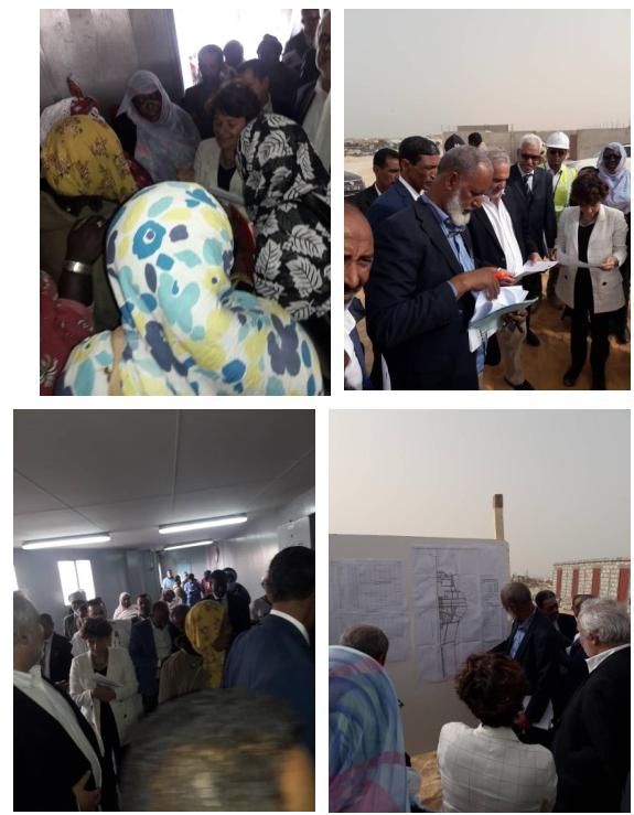 La Banque Mondiale organise en collaboration avec l'ONG TENMIYA des ateliers de sensibilisation au marché du poisson de Nouakchott