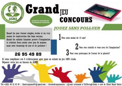Éducation/Environnement: ASME organise un Grand Jeu Concours au profit des écoliers