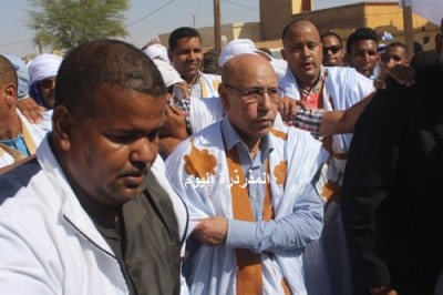 Présidentielle 2019 : Ould Ghazwani arrive à Boghé dans le cadre d'un périple préélectoral
