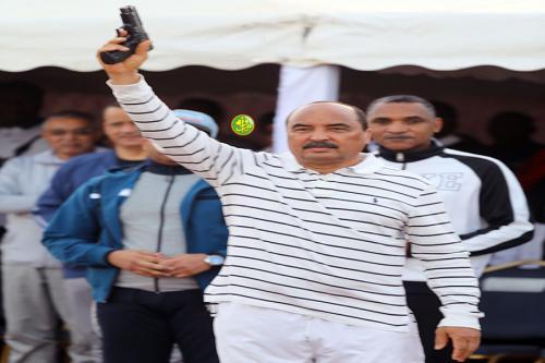 Le président de la République donne le coup d'envoi de la journée nationale du sport