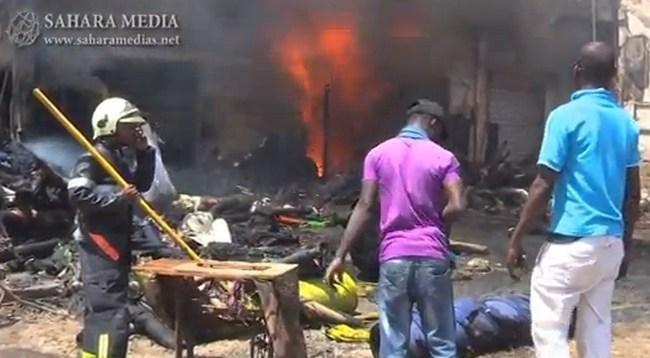 Mauritanie : des commerçants victimes d'incendies demandent l'aide des autorités