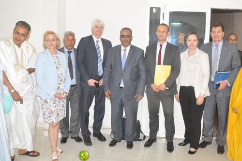 L'UNPM organise une rencontre avec une mission allemande en visite en Mauritanie