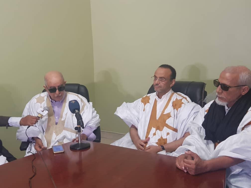 Ould Bredeleil et ses amis soutiennent Ould Beibacar