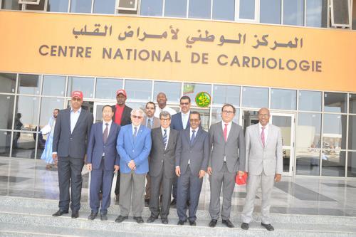 Le centre national de cardiologie reçoit un don de la société Coca-Cola