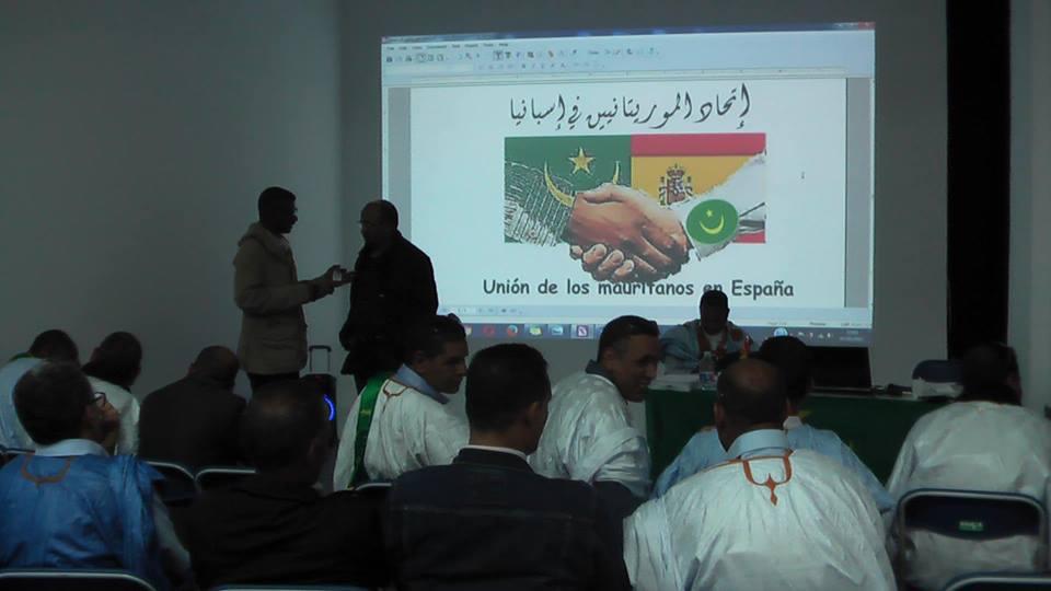 Union des mauritaniens en Espagne: Communiqué de Presse
