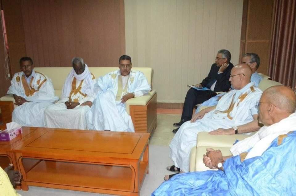 Ghazouani rencontre des leaders du RFD dirigés par Me Ould Lematt