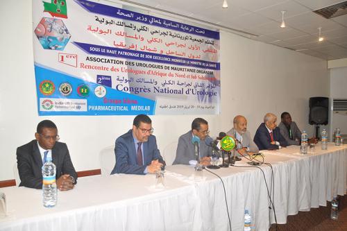 Tenue à Nouakchott de la 1ère rencontre des urologues d'Afrique du Nord et Sub-saharienne