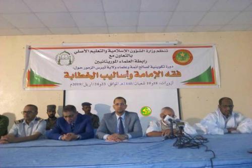 Zoueirate : lancement d'une session de formation sur l'«Imama» et techniques de la ''khotba'' (prêche du vendredi)