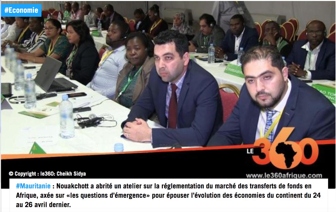 Mauritanie : les professionnels des réseaux de transferts de fonds réunis à Nouakchott