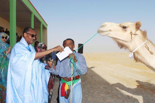 Le Premier ministre donne le coup d'envoi de la course cameline au km 18 au sud de la capitale