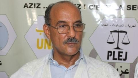 Un président de parti d'opposition reçu par Ould Ghazwani