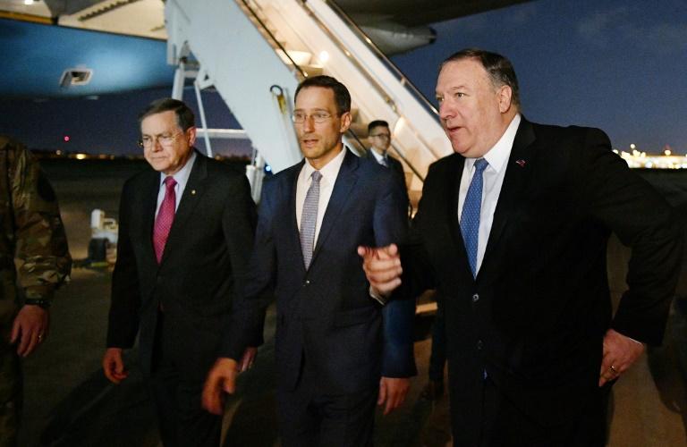 """Actualités Visite surprise de Pompeo à Bagdad pour contrer une """"escalade"""" de l'Iran"""