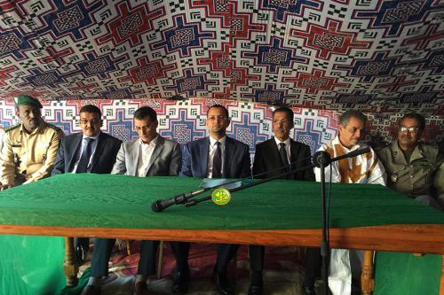 Le ministre des affaires islamiques inaugure une mahadra pilote au quartier 'Tarhil' à Nouadhibou