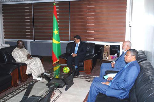 Le ministre de la culture reçoit le représentant résident du PNUD