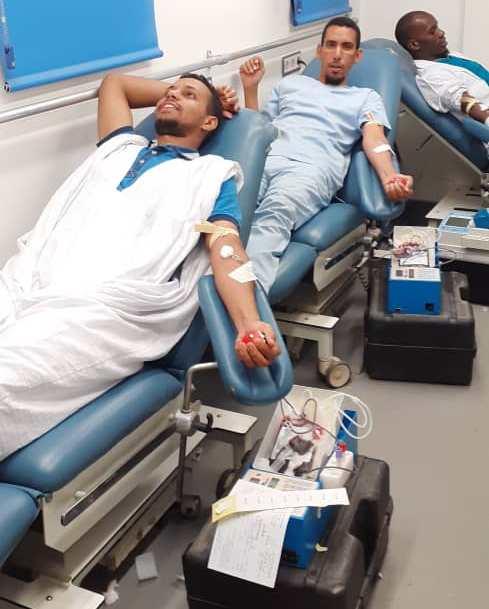 Les employés du CNC donnent de leur sang pour permettre d'opérer les malades