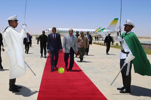Retour à Nouakchott du Président de la République