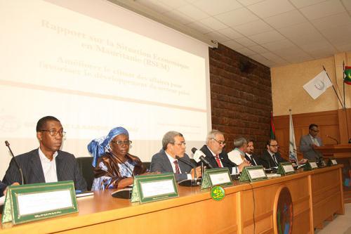 Lancement de la seconde édition du rapport sur la situation économique de la Mauritanie2019