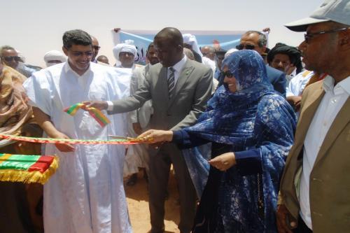 Inauguration d'une ferme pilote de l'oasis « Teyarett esdar »