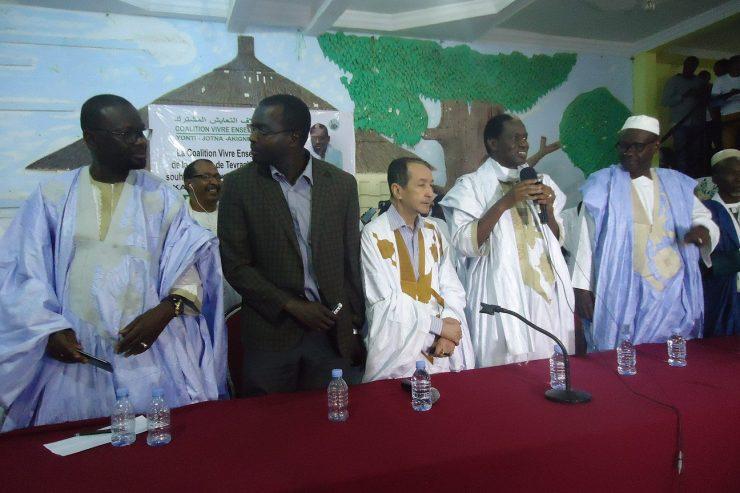 Chbih Cheikh Mélaïnine et le Front Populaire rejoignent Kane Hamidou Baba et la CVE