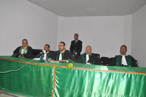Les membres de la Commission Nationale des Droits de l'Homme prêtent serment