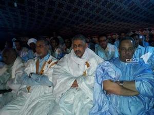 Méderdra : L'ancien ministre Ould Tah fait sa première apparition dans un meeting de soutien à Ould Ghazwani