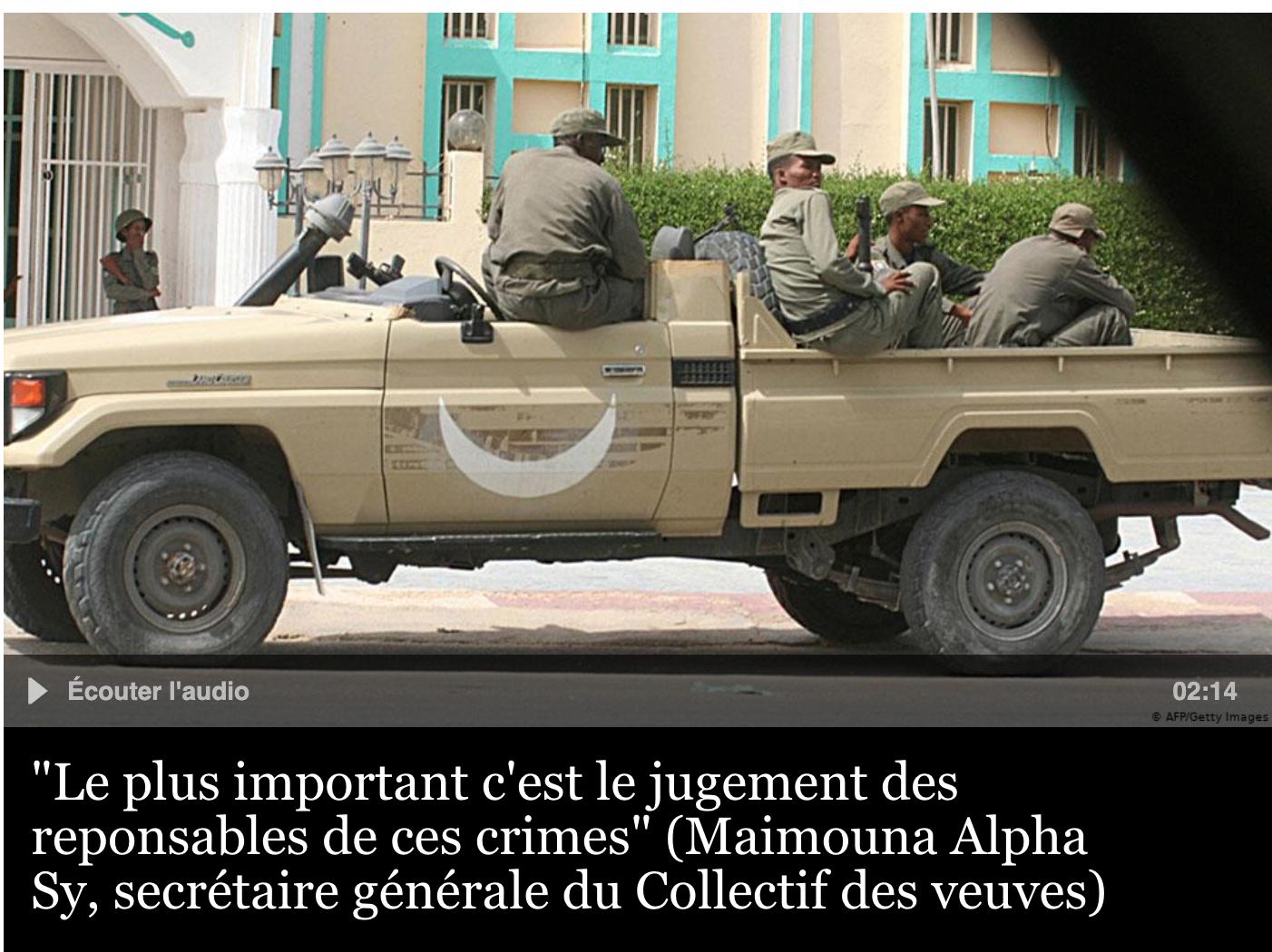 Mauritanie: les veuves du passif humanitaire de 1989 réclament toujours justice