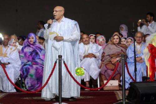 Le candidat Mohamed Ould Cheikh Mohamed Ahmed Ould Ghazwani démarre sa campagne de la ville de Nouadhibou