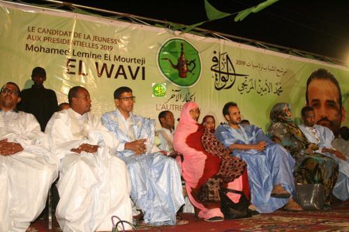 Le candidat Mohamed Lemine El Mourteji El Wavi ouvre sa campagne électorale pour les élections présidentielles 2019