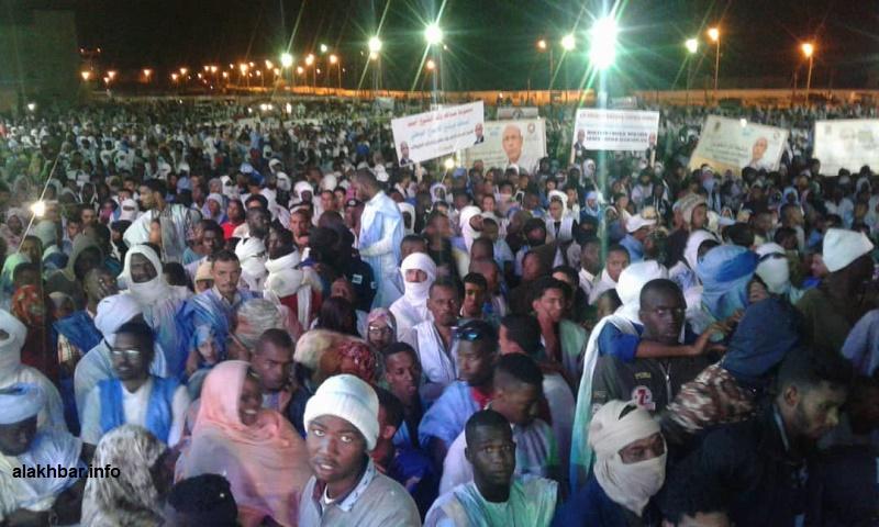 Mauritanie : Le candidat O. Ghazouani rend hommage au président Aziz