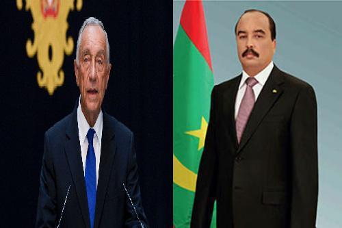 Le Président de la République félicite son homologue portugais
