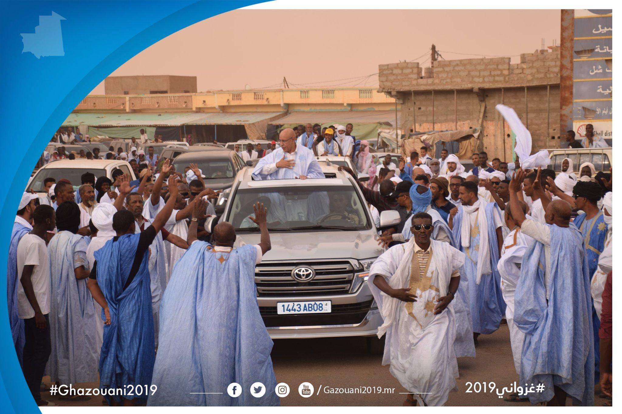 Passage de Ghazwani à Aleg : ça défile chez Tajedine