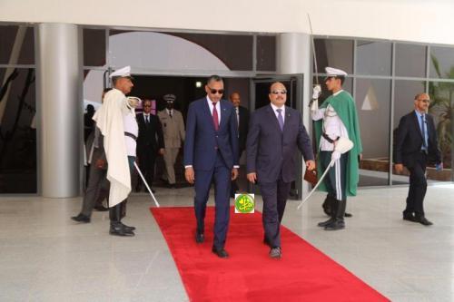 Le Président de la République quitte Nouakchott pour Malabo