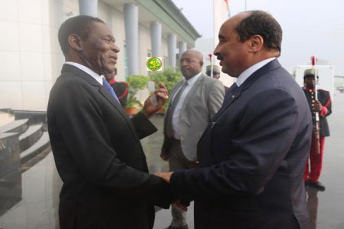 Arrivée du Président de la République à Malabo