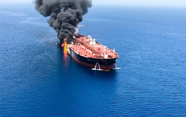 """Mer d'Oman: Washington accuse Téhéran d'être """"responsable"""" des attaques contre des pétroliers"""