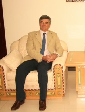 Le ministre des affaires étrangères reçoit l'ambassadeur de l'Union Européenne en Mauritanie