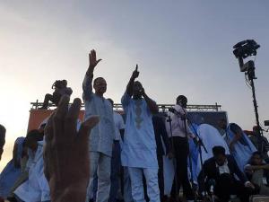 """Campagne présidentielle : """"Seul le changement civil le 22 Juin, peut garantir une Mauritanie prospère"""""""