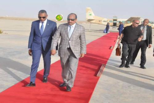 Le Président de la République revient de Keur-Macène et de Rosso