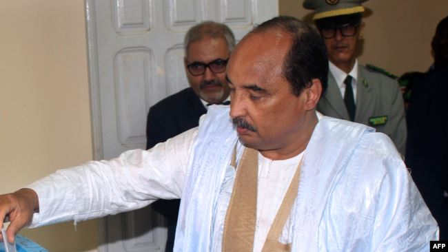 Mauritanie - Présidentielle: l'Armée renforce la démocratie (Président)