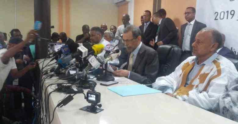Mauritanie : le président de la CENI annonce les résultats provisoires des élections
