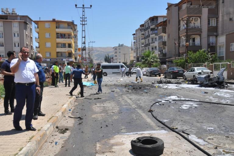 """Explosion en Turquie: """"sans doute un acte terroriste"""" selon Erdogan"""