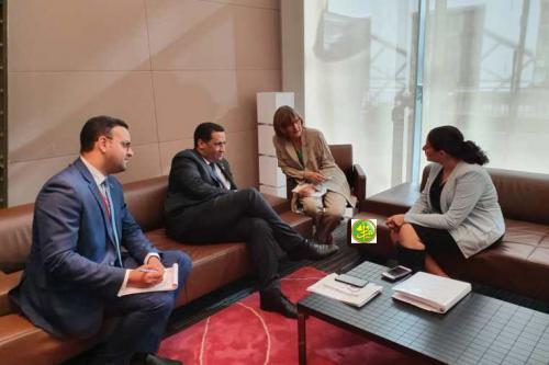 Le Ministre de l'économie et des finances participe aux réunions des G7 et G5 Sahel