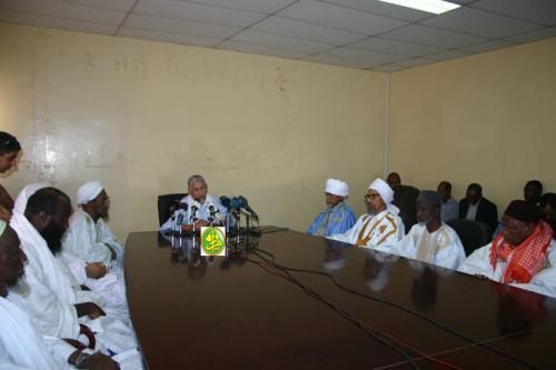 Des Ulémas, imams et Fakihs donnent une conférence de presse