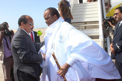 Le Roi de Swatini achève sa visite à Nouadhibou