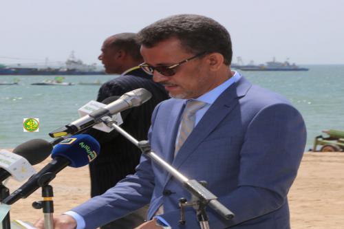 Le ministre des pêches: Le quai des garde-côtes mauritaniens s'inscrit dans le cadre du parachèvement du système des infrastructures maritimes