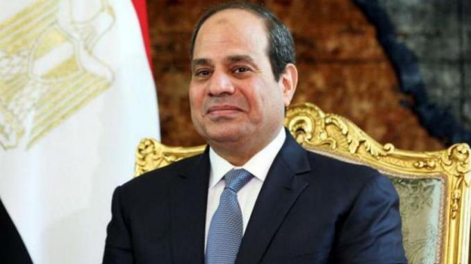 Le Président élu reçoit un message de félicitations du Président de la République Arabe d'Egypte