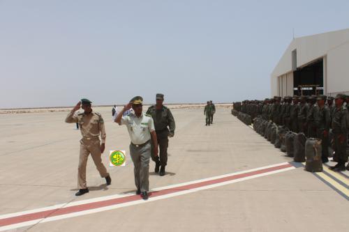 Départ pour la Centrafrique du 7ème contingent de la gendarmerie nationale