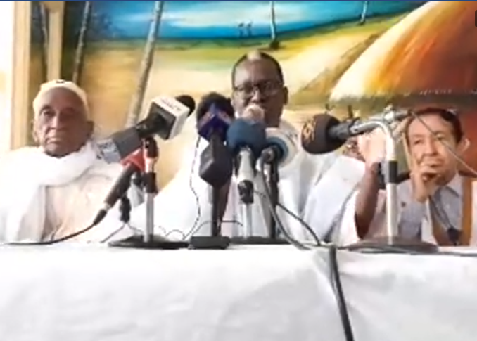 Le candidat de la CVE, Dr. Kane Hamidou Baba dénonce une « dérive ethno-raciale du pouvoir »