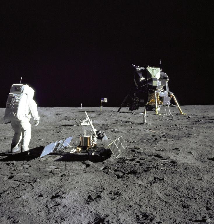 """Il y a 50 ans, le """"petit pas"""" de Neil Armstrong sur la Lune"""