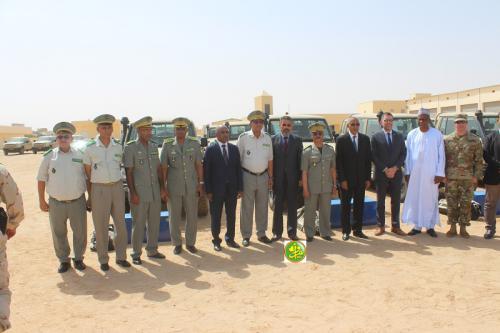 La Mauritanie reçoit un premier lot d'équipements militaires remis par les Etats Unis d'Amérique